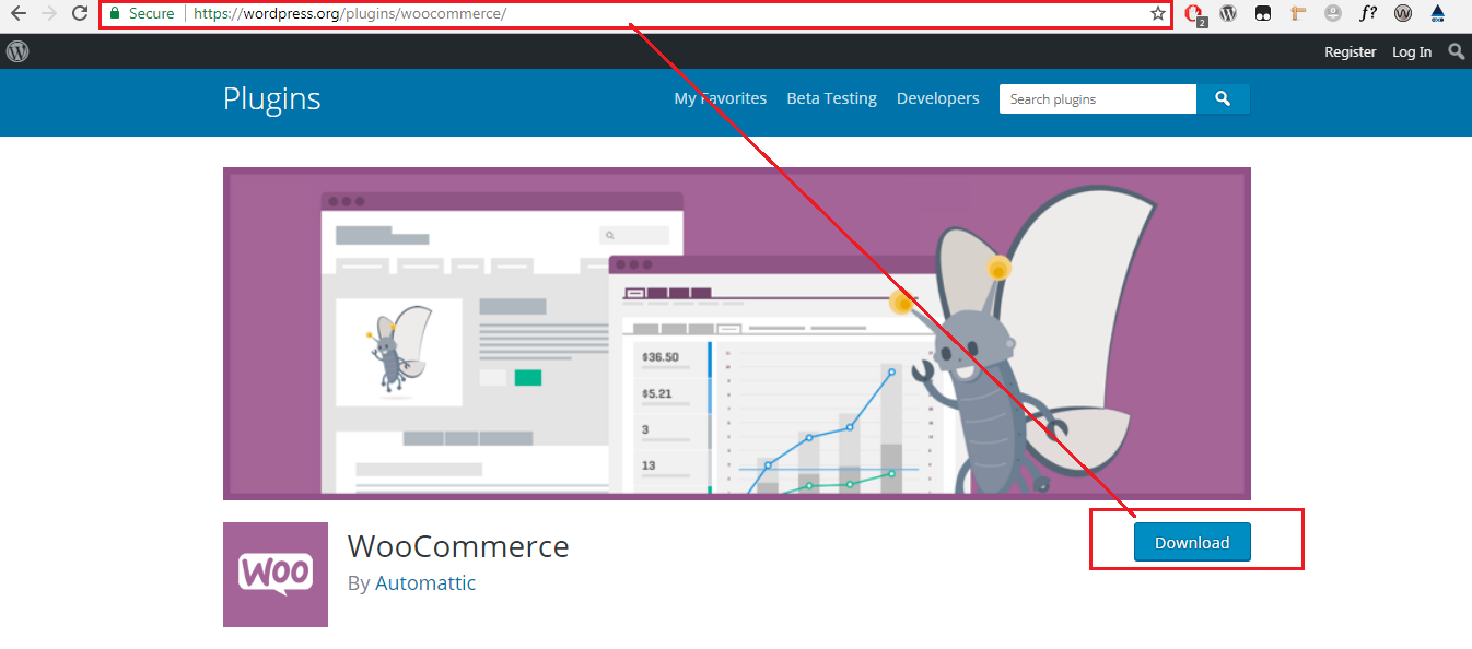 Download Woocommerce Plugin
