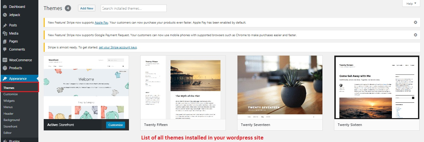 Customizing WordPress Theme
